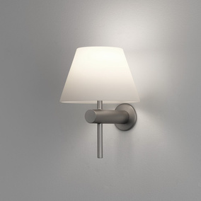 Wandleuchte Roma in Nickel-Matt G9 IP44