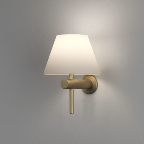 Wandleuchte Roma in Gold-Matt G9 IP44