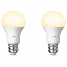 Philips Hue White LED E27 9,5W - Doppelpack