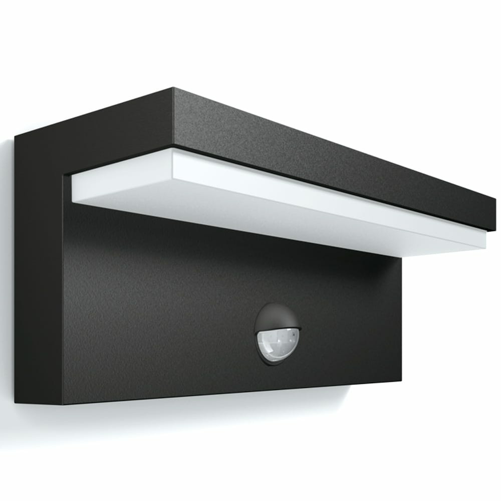 philips mygarden led au enwandleuchte bustan in anthrazit. Black Bedroom Furniture Sets. Home Design Ideas
