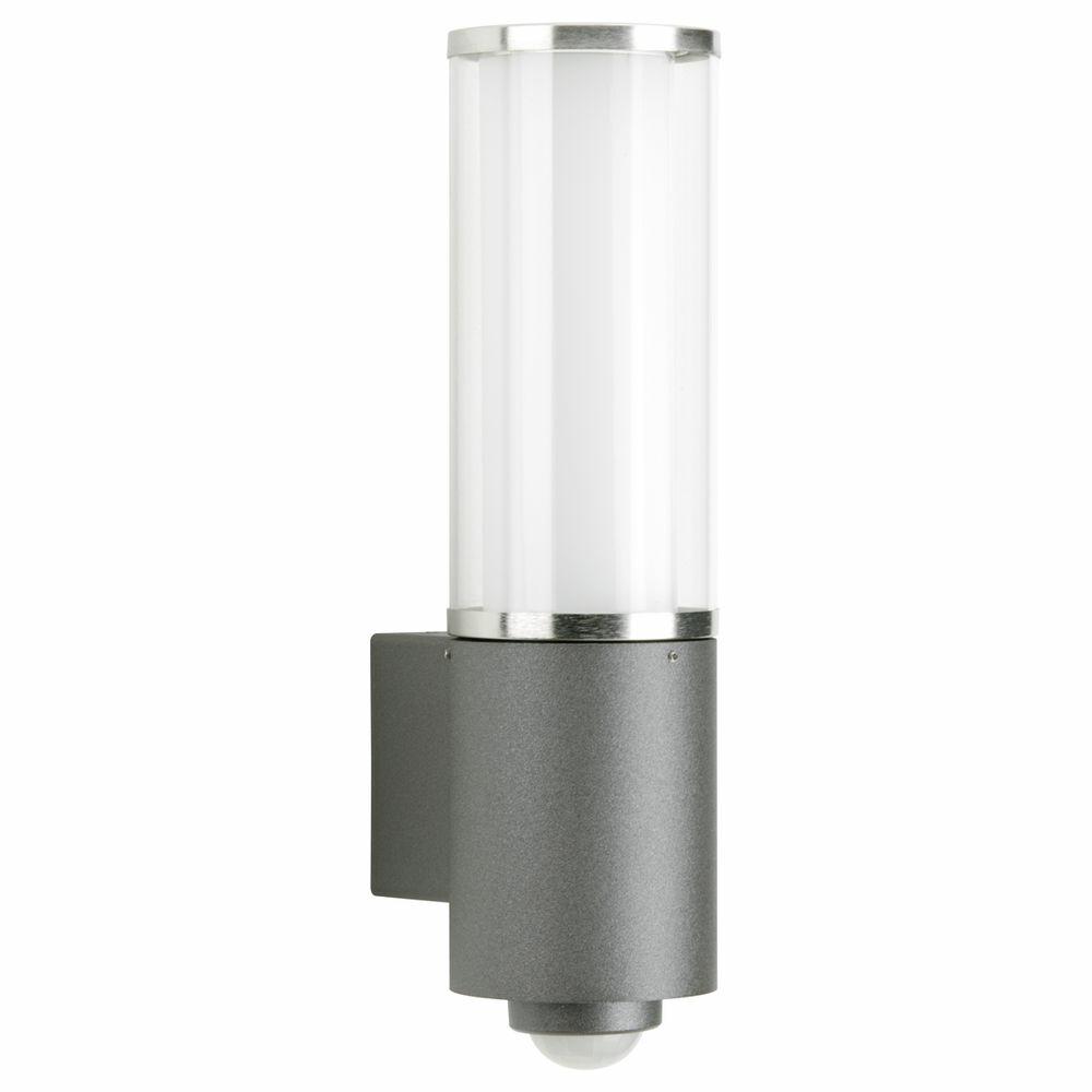 wandleuchte a 341698 mit bewegungsmelder edelstahl anthrazit acryglas op albert 620320. Black Bedroom Furniture Sets. Home Design Ideas