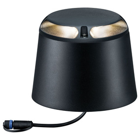 LED Plug & Shine Bodenaufbauleuchte in anthrazit IP67...