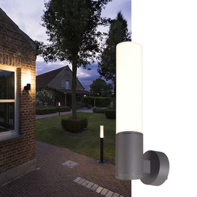 LED Wandleuchte Aponi, anthrazit, 3000K, IP65