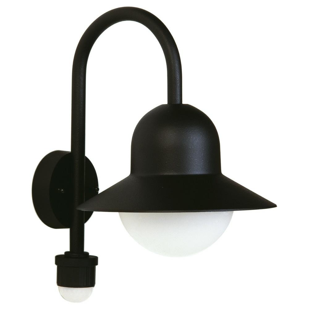 runde wandleuchte aus aluguss opalglas ip44 mit montageplatte albert click. Black Bedroom Furniture Sets. Home Design Ideas