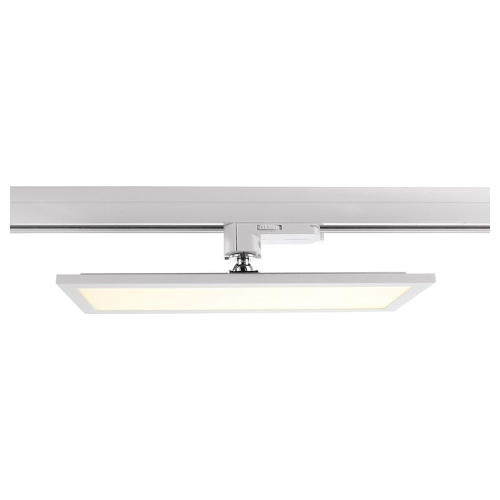 Schienensystem 3-Phasen 230V, Panel Track Light, Weiß, 110-240V AC/50-60Hz, 20,00 W, Neutralweiß