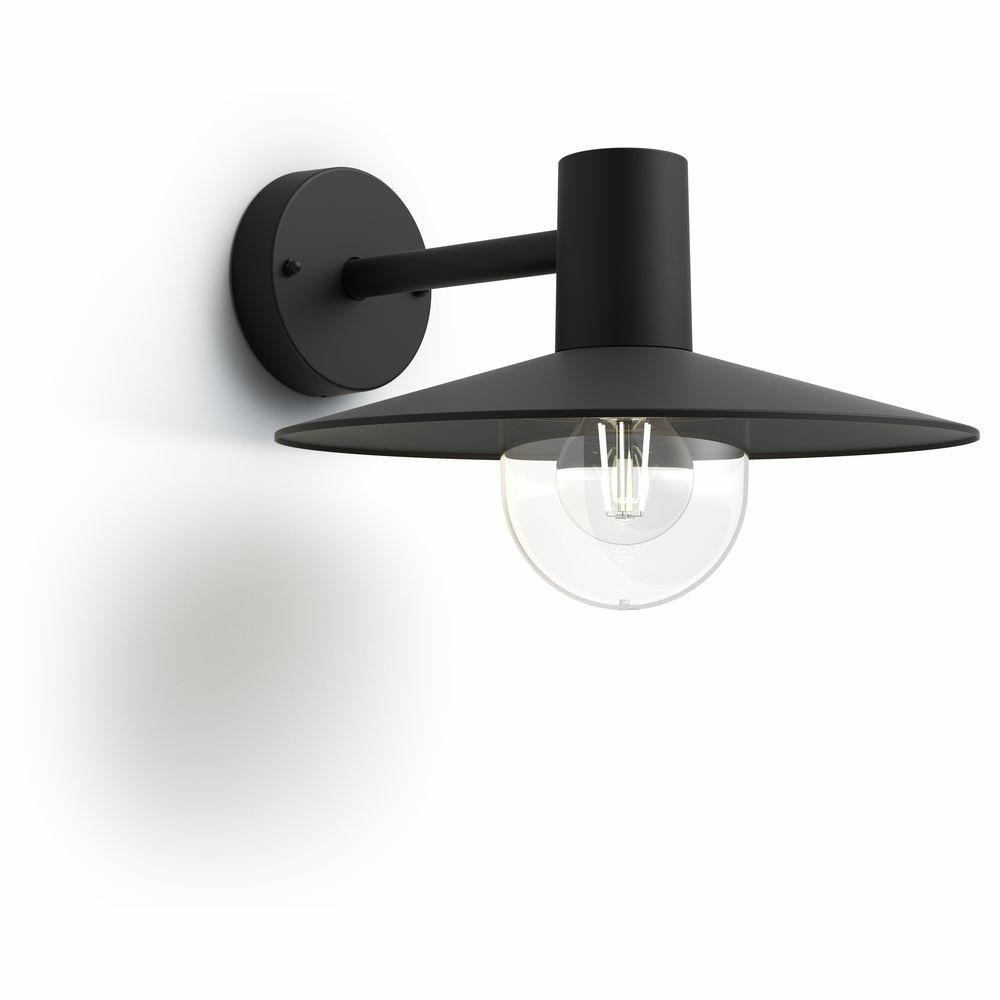philips mygarden au enwandleuchte skua schwarz philips 1738230pn click. Black Bedroom Furniture Sets. Home Design Ideas