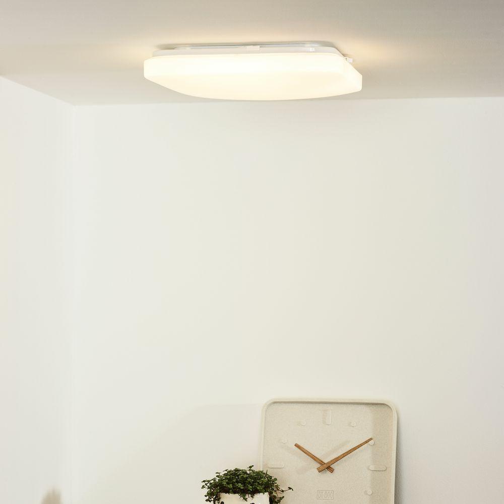 led deckenleuchte otis in wei rechteckig 330x330mm lucide 79198 32 61 click. Black Bedroom Furniture Sets. Home Design Ideas