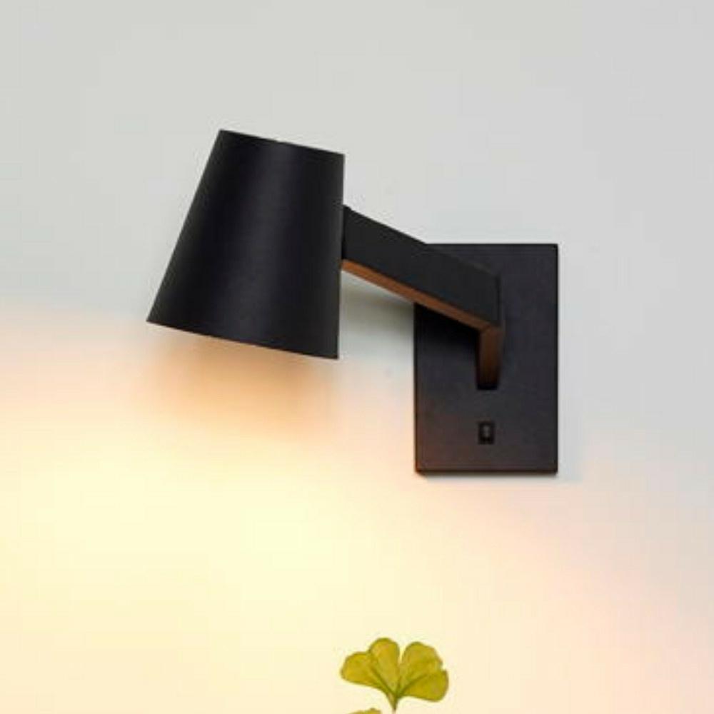 Wandleuchte Mizuko in schwarz schwenk- und drehbar | LUCIDE | 20210 ...