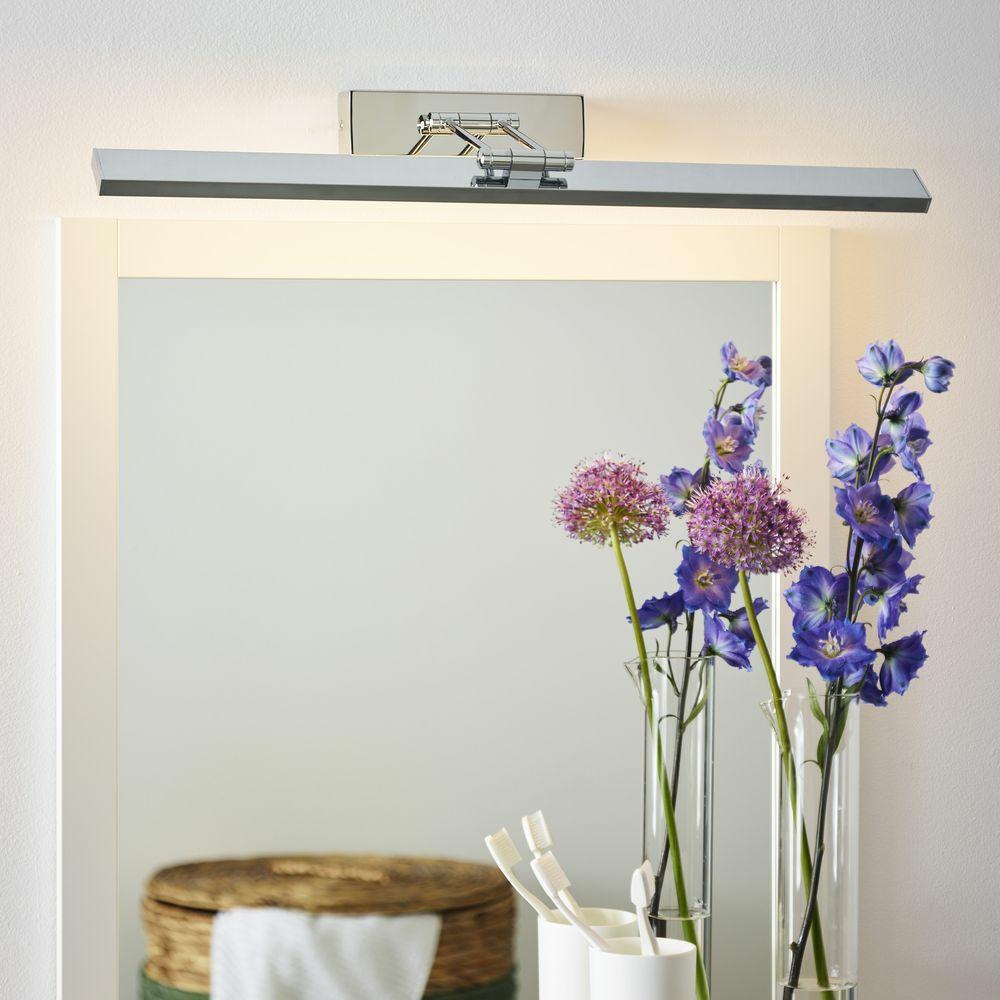 LED Badezimmer Wandleuchte Erwan aus Metall in chrom | LUCIDE ...