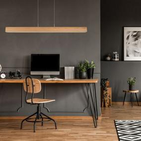 led tischleuchte sytze aus hellem holz dimmbar lucide 48550 10 72 click. Black Bedroom Furniture Sets. Home Design Ideas