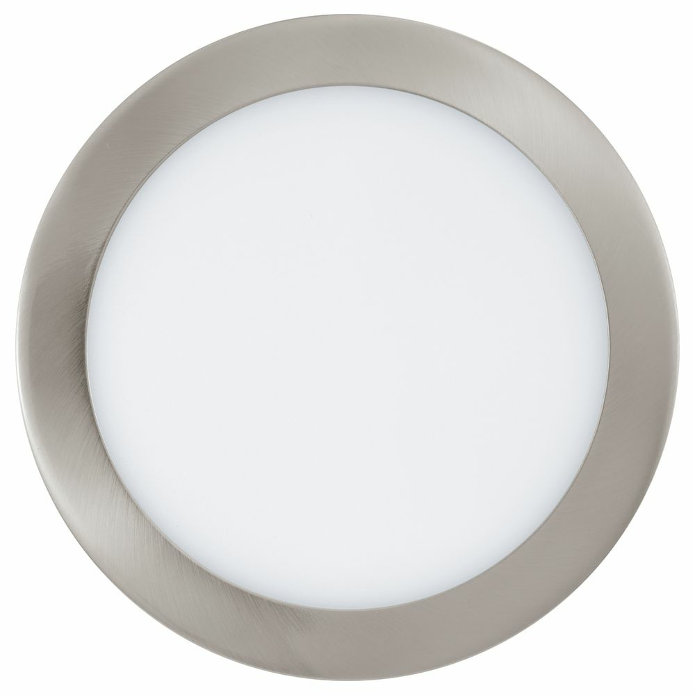 Connect LED Einbauleuchte, RGBW + Tunable White, rund, dimmbar, 225 mm, nickel-matt