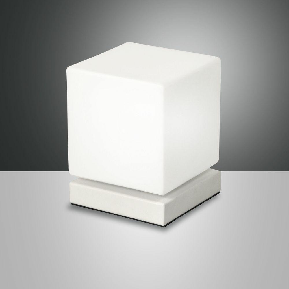 led tischleuchte brenta in wei 6w 540lm dimmbar fabas. Black Bedroom Furniture Sets. Home Design Ideas