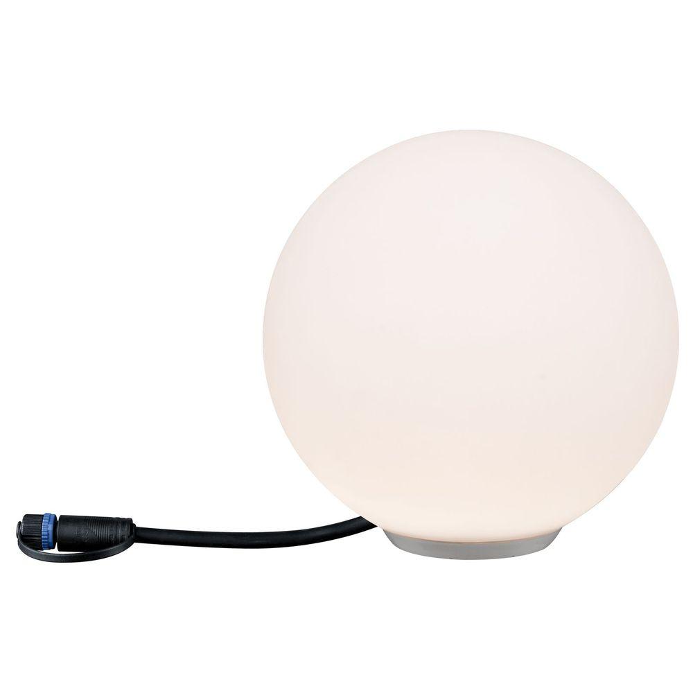 led plug shine lichtkugel in wei ip67 warmwei 24v 200mm paulmann 94177 click. Black Bedroom Furniture Sets. Home Design Ideas