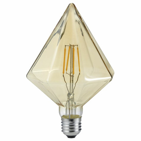 LED Leuchtmittel Kristall in transparent 4W 320lm