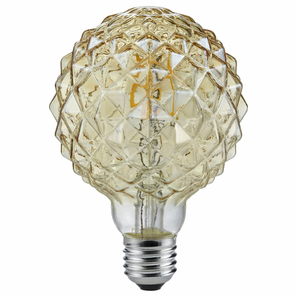 LED Leuchtmittel Globe in transparent 4W 320lm