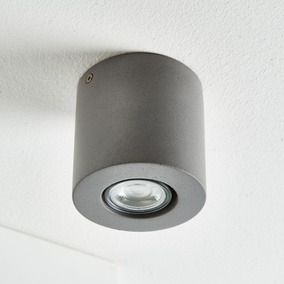 Symbol Der Marke Aufbau Spotleuchte Rund Strahler Deckenleuchte Gu10 5w Led Leuchtmittel 230v Neueste Technik Lampen Deckenleuchten