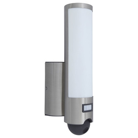 LED Kameraleuchte Secury\'Light Elara in Silber 1200lm IP44