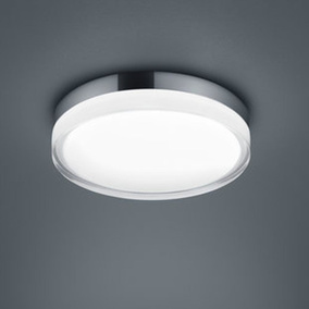 LED Deckenleuchte Tana in Chrom 18W 1220lm IP44