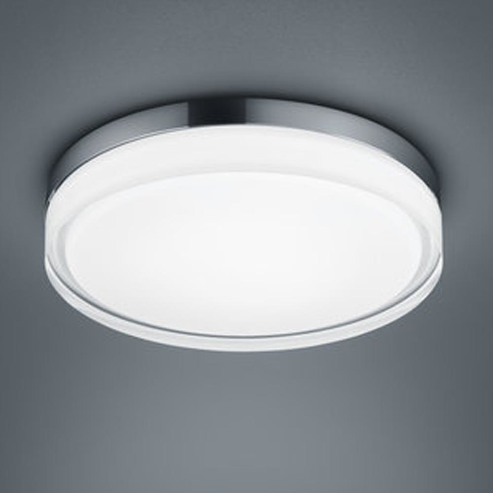 LED Deckenleuchte Tana in Chrom 22W 1640lm IP44