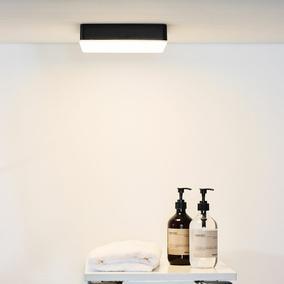 Eckige Badezimmer Wandleuchten und Deckenleuchten Shop - click-licht.de