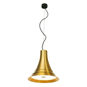LED Pendelleuchte Bato in Gold 21W 1500lm