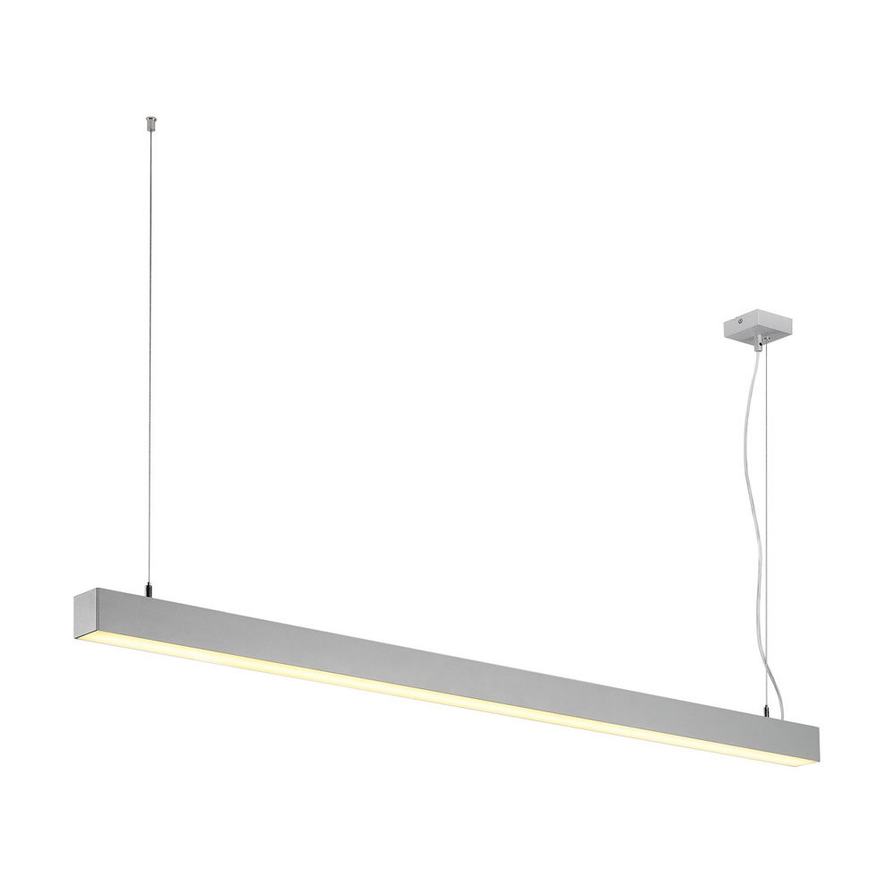 LED Pendelleuchte Q-Line Dali Single in Weiß 47W 3700lm