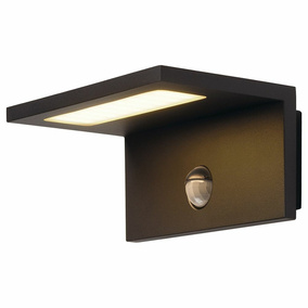 LED Wandleuchte LED Sensor Wl in Anthrazit 9,8W 560lm IP44