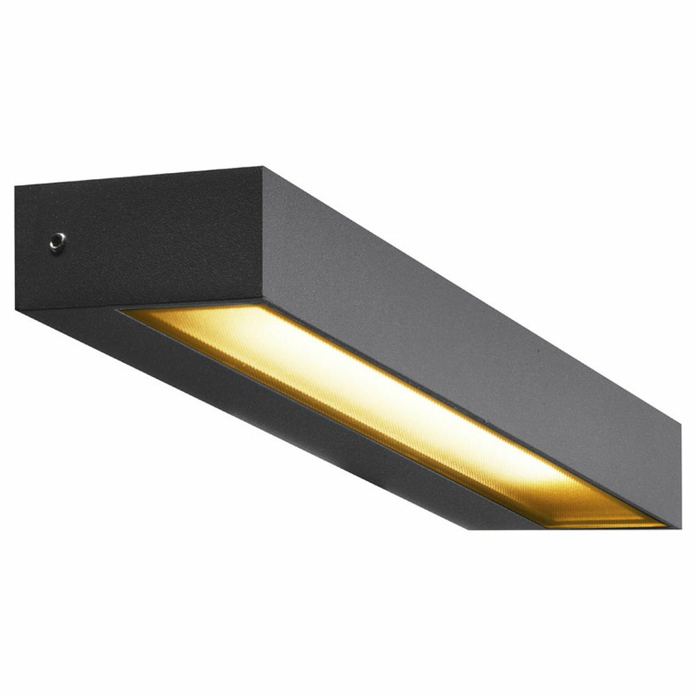 LED Wandleuchte Pema Wl in Anthrazit 7,7W 450lm IP54