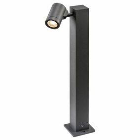 LED Wegeleuchte Helia Single Pole in Anthrazit 8W 450lm IP55