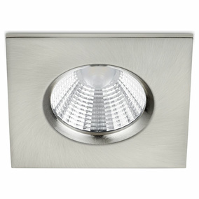 LED Einbaustrahler Zagros in Nickel-matt eckig 5,5W 345lm...