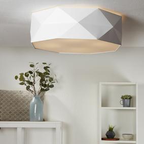 Deckenlampen & Kronleuchter Hart Arbeitend Deckenleuchte Schwarz Gold Silber Rund Schlafzimmer Wohnzimmer Deckenlampe Loft