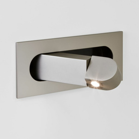 LED Wandleuchte Digit in Nickel-Matt 4,4W 175lm