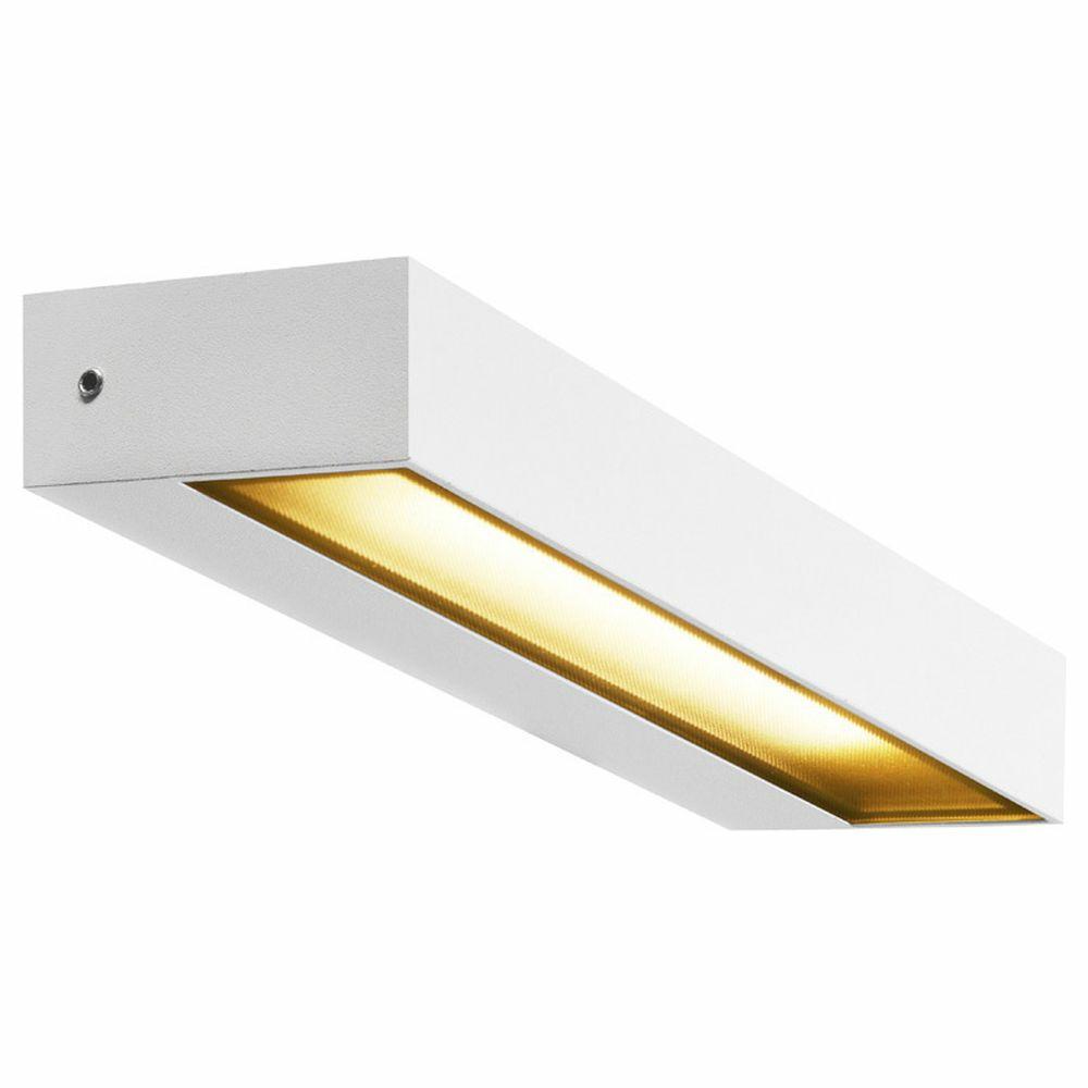 Wandleuchte Deckenleuchte Glas IP54 LED Metall Modern Schlicht