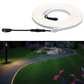 Plug & Shine Neon LED Stripe IP67 3000K 24V 5m