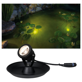 Plug & Shine Underwater Spotlight IP68 3000K 4W 24V...