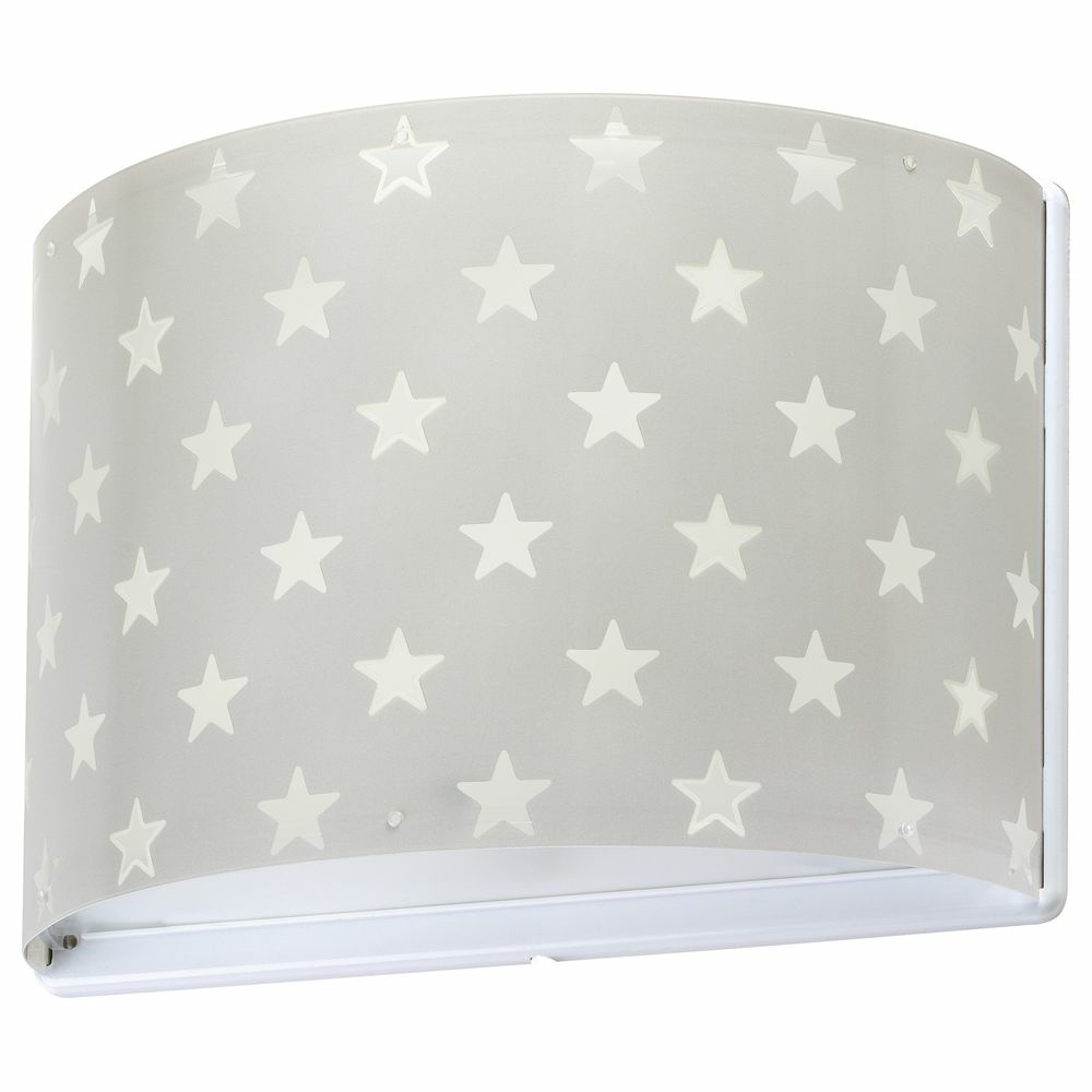 Kinderzimmer Wandleuchte Stars fluoreszierend E27