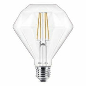 Philips LED Leuchtmittel Diamant, E27, warmweiß,...