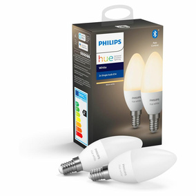 Philips Hue White LED E14 5,5W - Doppelpack, Bluetooth