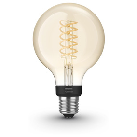Philips Hue White LED E27 Globe - G93 Filament 7W, 2100...