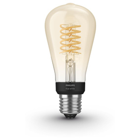 Philips Hue White LED E27 ST64 Filament 7W, 2100 K,...