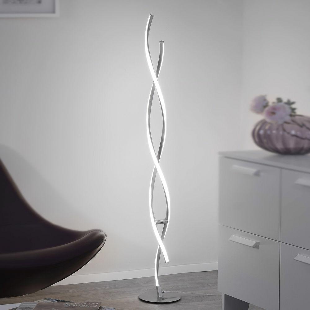 Led Stehleuchte Polina Aus Aluminium In Silber Paul Neuhaus 9140 55 Click Licht De