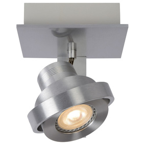 LED Deckenspott Landa 5W GU10 in Aluminium 1-flammig