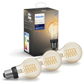 Philips Hue White LED E27 Filament 7W, 2100 K, dimmbar,...
