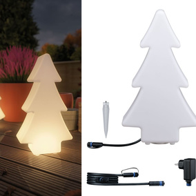 LED Baum Set Plug&Shine in Weiß