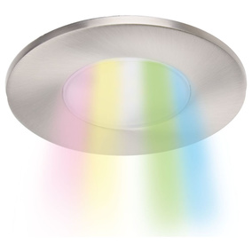 LED Einbauspot Wiz Connected 13W 360lm in Silber 1-teilig