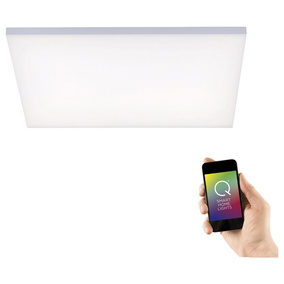 Q-Smart LED Deckenleuchte Q-Frameless in Weiß RGBW...
