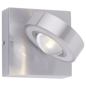 Q-Smart LED Wandleuchte Q-Mia in Silber RGBW inkl....