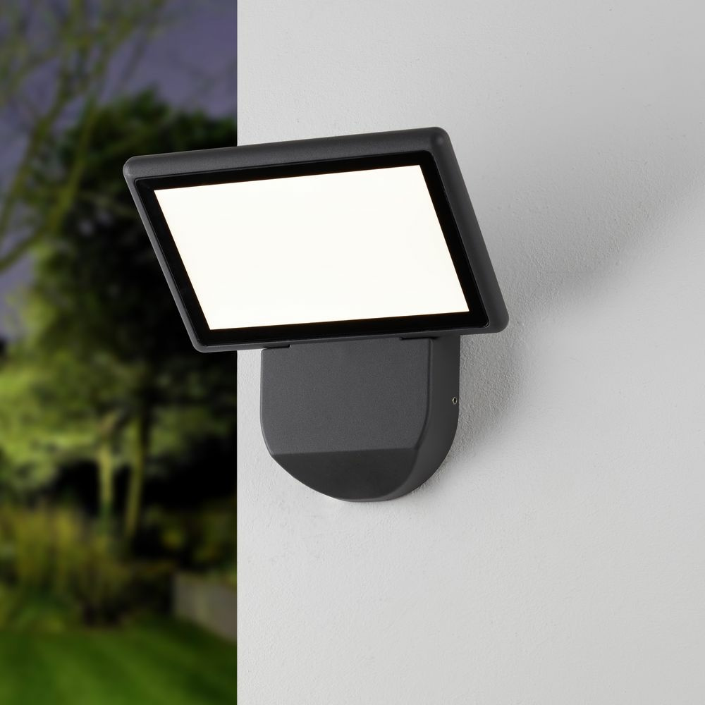famlights | LED Wandleuchte Leif in Anthrazit