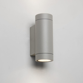 LED Wandleuchte Dartmouth in Grau 8,1W, 542lm, IP54