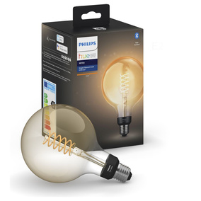 Philips Hue White LED E27 Filament Giant Globe G125, 7W,...